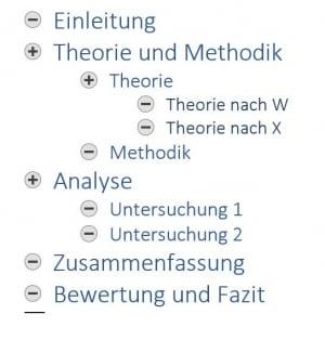 gliederung-word-hausarbeit