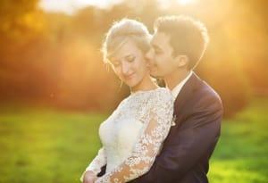 Dankeskarten-Hochzeit-Hochzeitsfoto