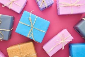 Danksagung-Geburt-Geschenke